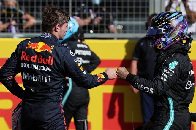 レッドブル代表「メルセデスのイギリス連続ポールを止めたが、差はわずか」F1第10戦スプリント予選