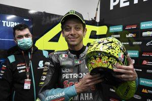 ロッシ、最後の母国GPでスペシャルヘルメットお披露目/MotoGP第16戦エミリア・ロマーニャGP