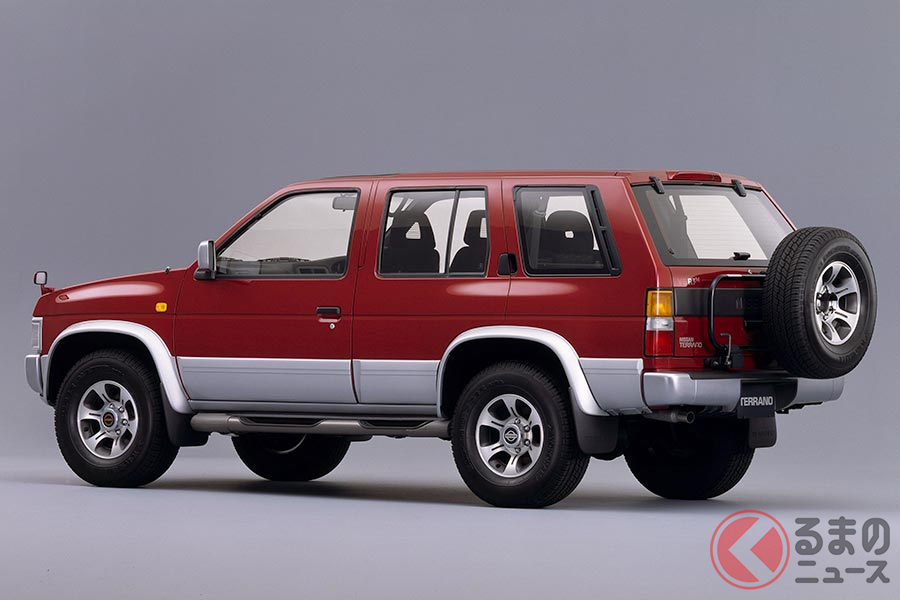 最近はシティ派SUVばかり…バブル期に人気の硬派な国産オフロードSUVが激減した理由