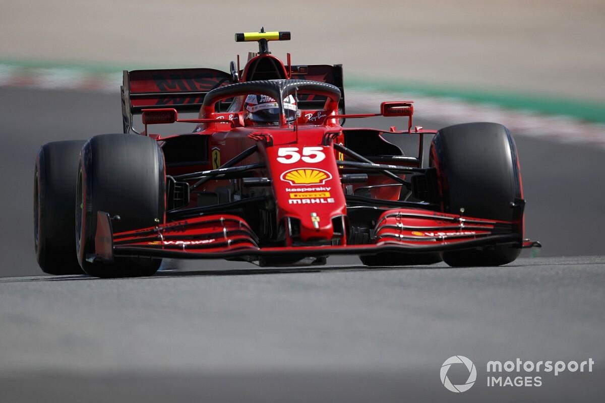 サインツJr.、タイヤのグレイニングに苦しみF1ポルトガルGP入賞逃す「ハードタイヤの方が良かった……」