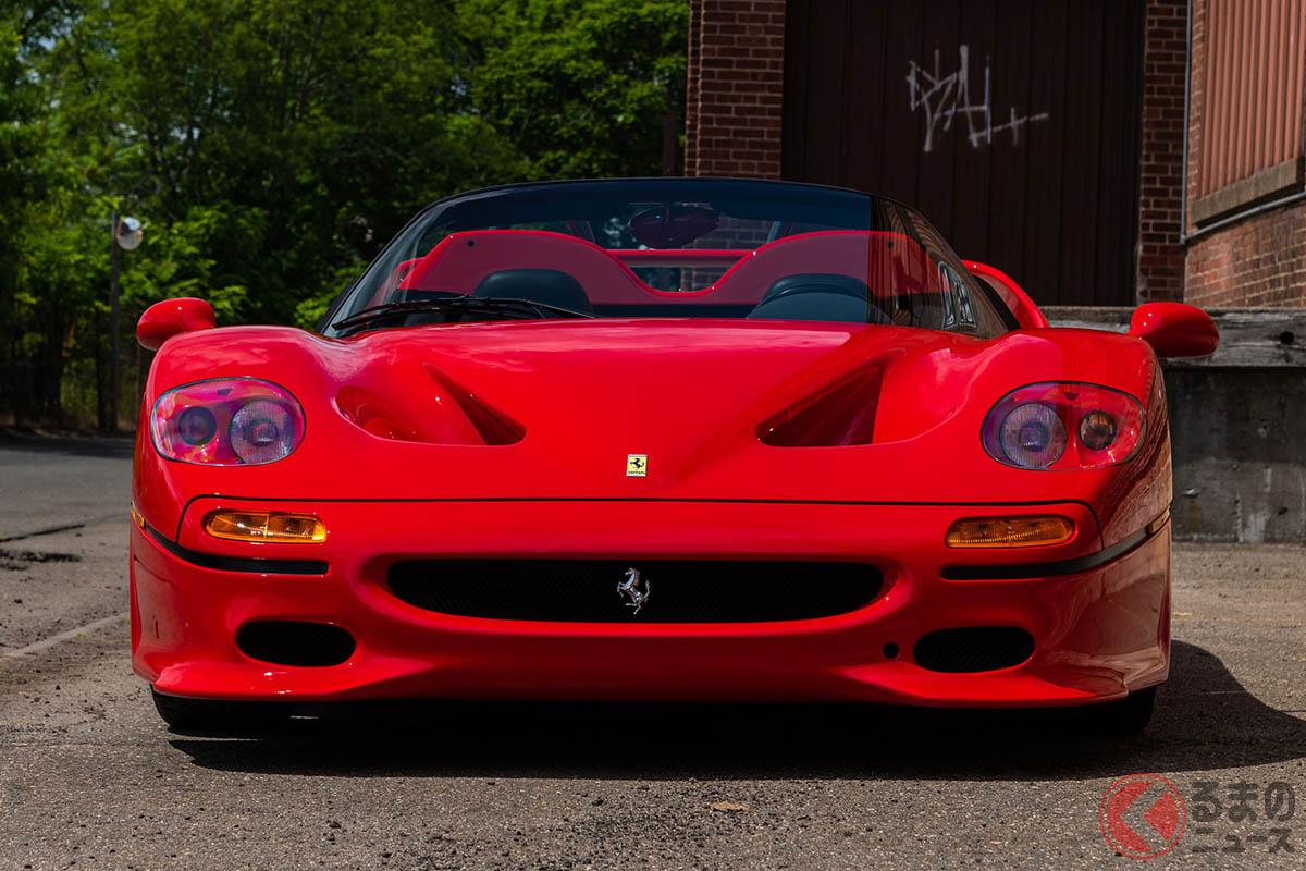 「F40」「F50」「エンツォ」「ラ フェラーリ」で4億円超えのもっとも高価なフェラーリは?