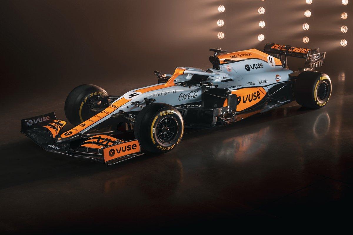 """マクラーレンF1、モナコGPで""""ガルフオイル""""の特別カラーリングを実施"""