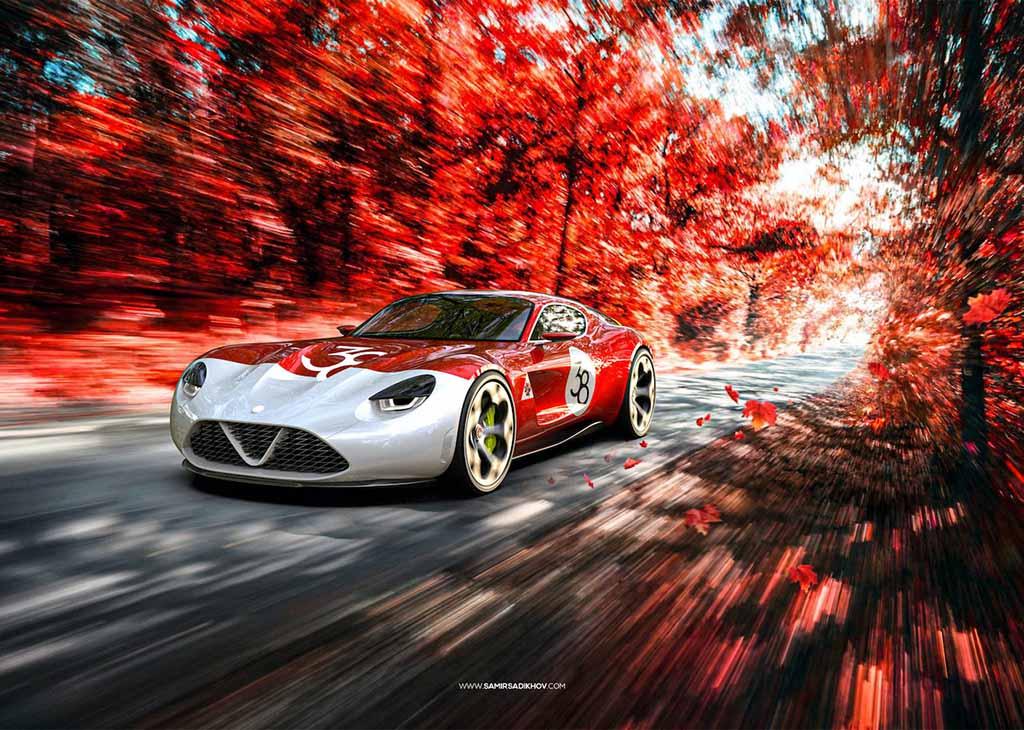 【スクープ】元ランボルギーニのデザイナーが、アルファロメオの次世代スポーツ『TZ 4』を大予想!