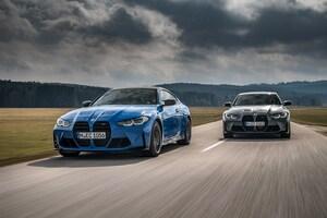 BMWがM3&M4クーぺにモデル史上初の4WDモデルを追加。0-100加速も0.4秒短縮
