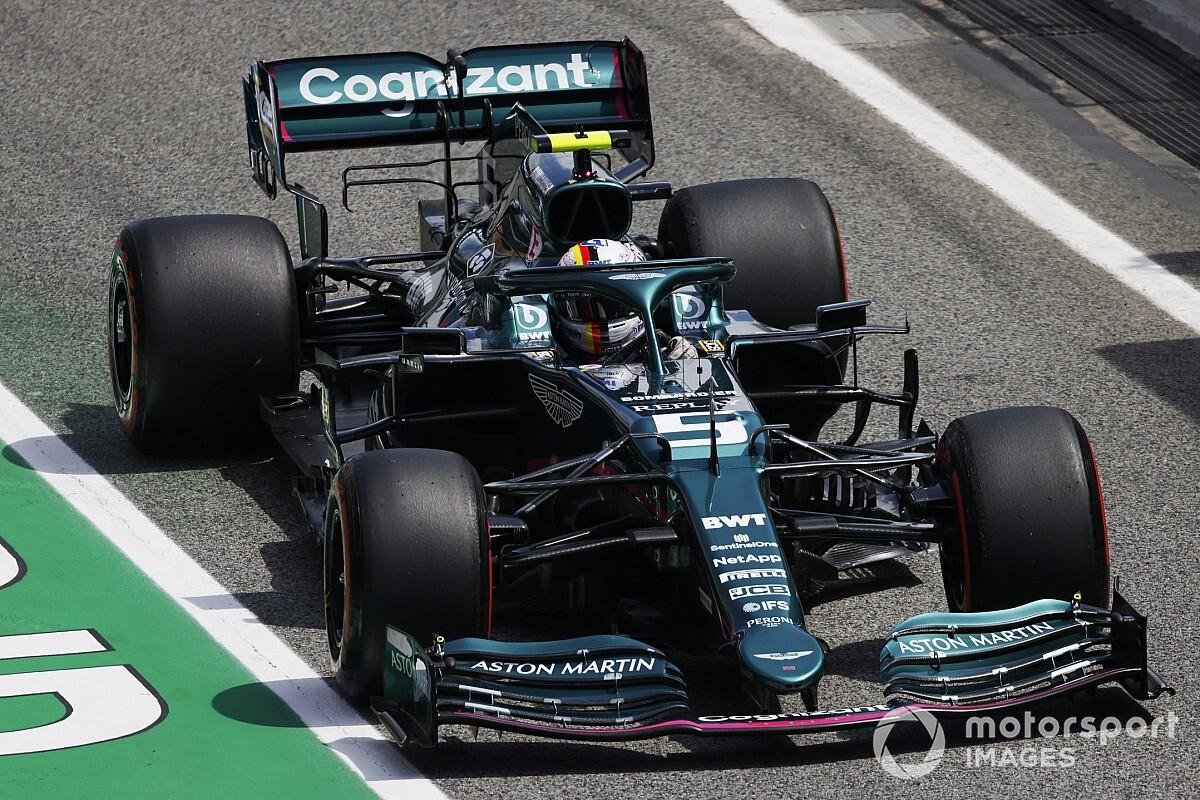 ベッテル、アップグレードされたマシンに好感触「今季これまでで最高の金曜日」|F1スペインGP