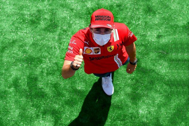ルクレール初日3番手「アプローチを変えて好調。メルセデス&レッドブルのすぐ後ろを狙う」フェラーリ/F1第4戦