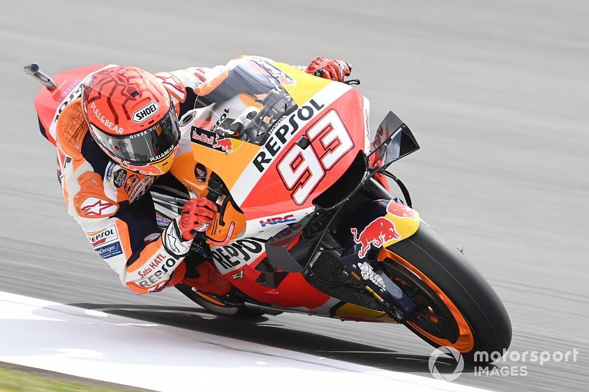 【MotoGP】驚異の予選6番手マルク・マルケス「筋肉が足りない…!」長丁場の決勝は苦戦予想|ポルトガルGP