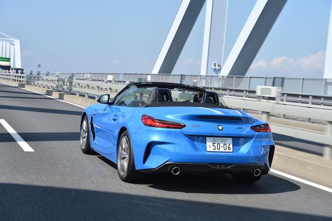【試乗】BMW Z4 sDrive20i │ ただの廉価グレードではない、直4だからこその軽快な乗り味!