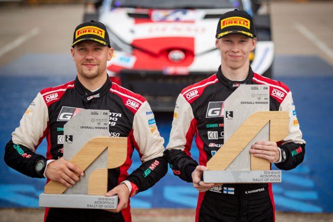 2勝目ロバンペラ「素晴らしい気分。母国戦でも同じ走りを期待」/WRC第9戦ギリシャ デイ4後コメント