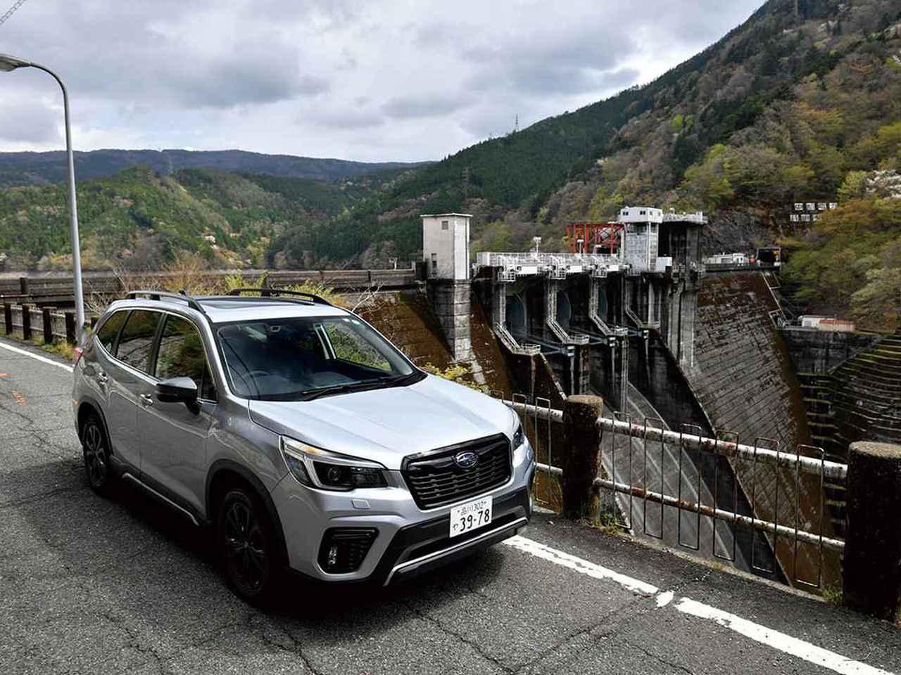 スバル フォレスターでゆく大井川水系のダム巡り。アップダウンや吊り橋ありのロングツーリング