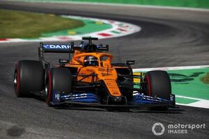 """F1イタリアFP3:マクラーレン勢が首位ボッタスに次ぐ2、3番手。""""大渋滞""""も既に発生"""
