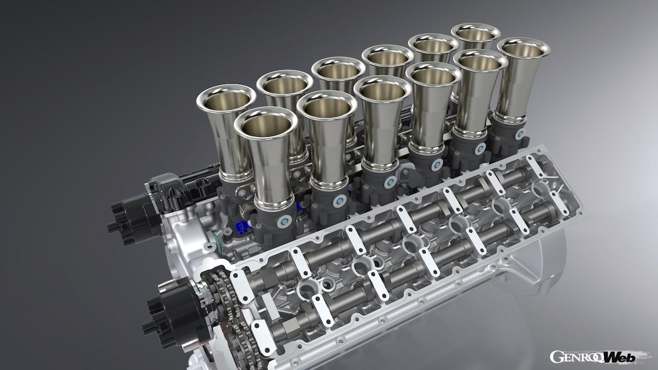 究極のハンドメイドV12エンジンか!? GTOエンジニアリング、スクアーロのハイパワーかつ超軽量なエンジンスペックを公表