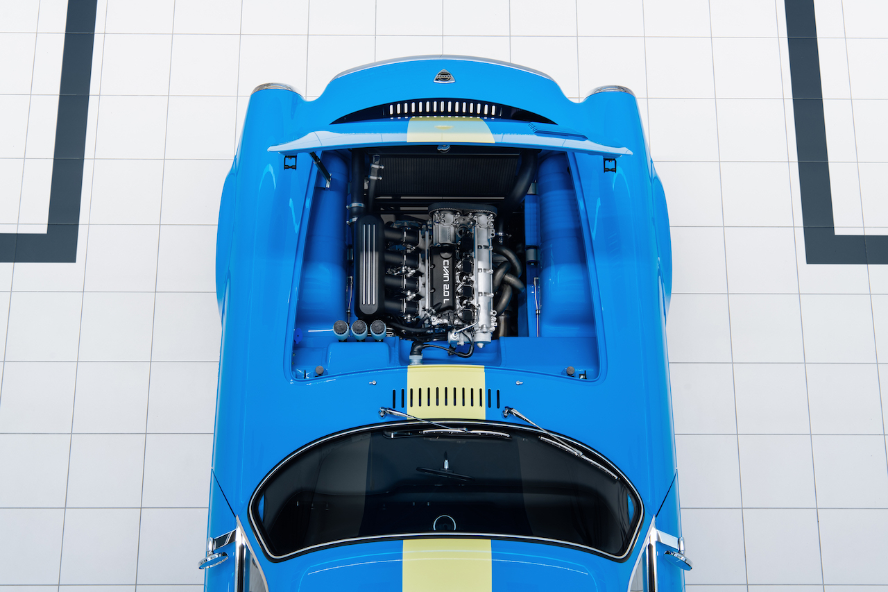 60年代の名車を現代流にリファインした「ボルボ P1800 シアン」、パワーユニットほか詳細な仕様を公開