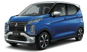 三菱eKクロス/eKワゴンが一部改良。予防安全技術の機能が向上