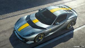 812 スーパーファストがベースのフェラーリ最新スペチアーレ! 装いを一新し戦闘力を高めて間もなくデビュー