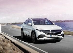 メルセデスが電動SUV「EQA」の初回限定車50台の予約受付を開始、790万円で残りわずか
