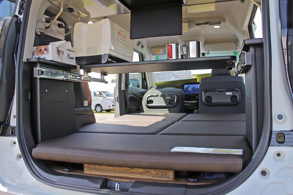 【車中泊は、ソリオ新型で】どんな人が購入? 軽キャンピングカーより広い、キャビン2ミニ・ウィッシュ