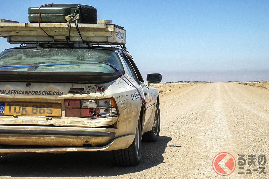 ポルシェ的節約大陸! オンボロ「944」で英国から南アフリカまでの2万1000kmの旅