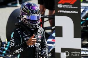 F1イタリア予選:予選モードもトウもいらない! ハミルトンがポール獲得。レッドブル・ホンダのフェルスタッペン5番手