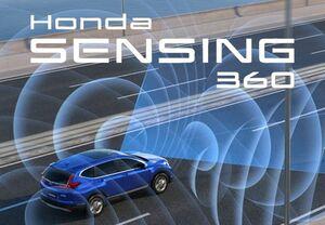 ホンダ、全方位安全運転支援システム「Honda SENSING 360」を発表。2022年中国での発売を皮切りにグローバルで順次適用を拡大