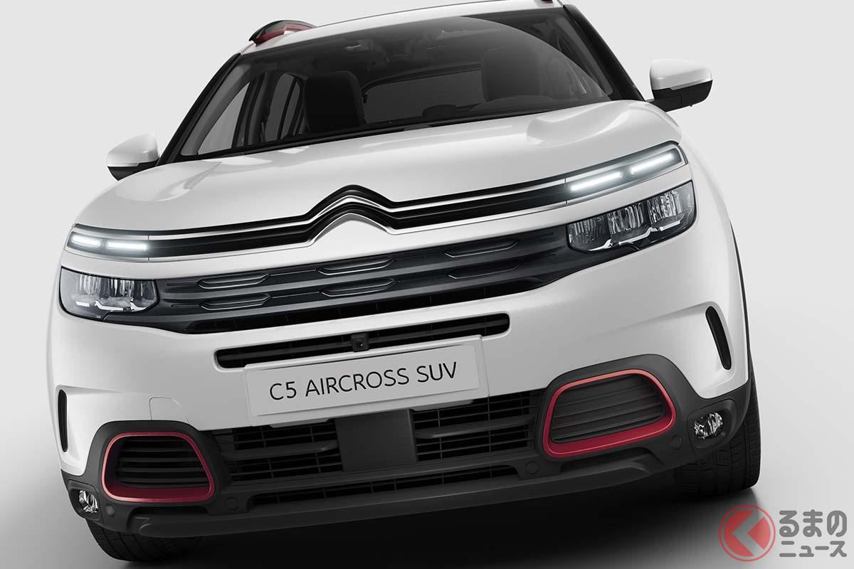 シトロエンのコンフォートSUV「C5エアクロス」が仕様変更! ガソリン車は燃費9%向上