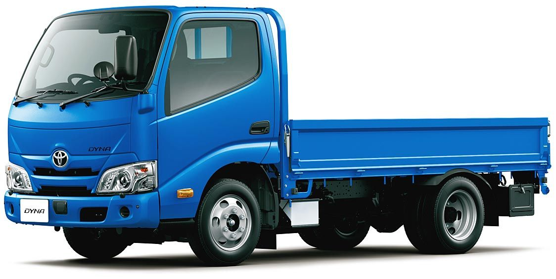 トヨタ、「ダイナ」1トン積み系を一部改良 先進安全装備を全車標準化