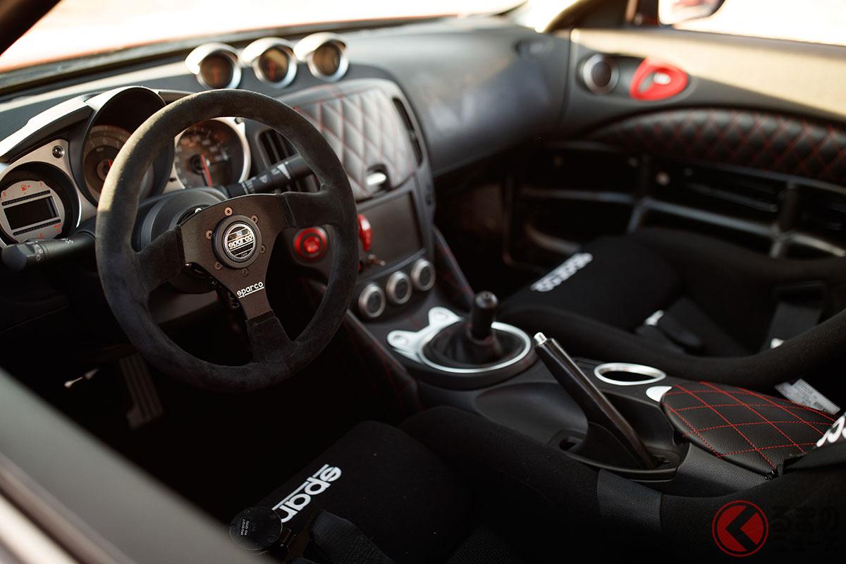 """日産新型「フェアレディZ」で""""予言的中""""?「ほぼ新型Z」だった!? 過激仕様「370Zクラブスポーツ23」のスゴさとは"""