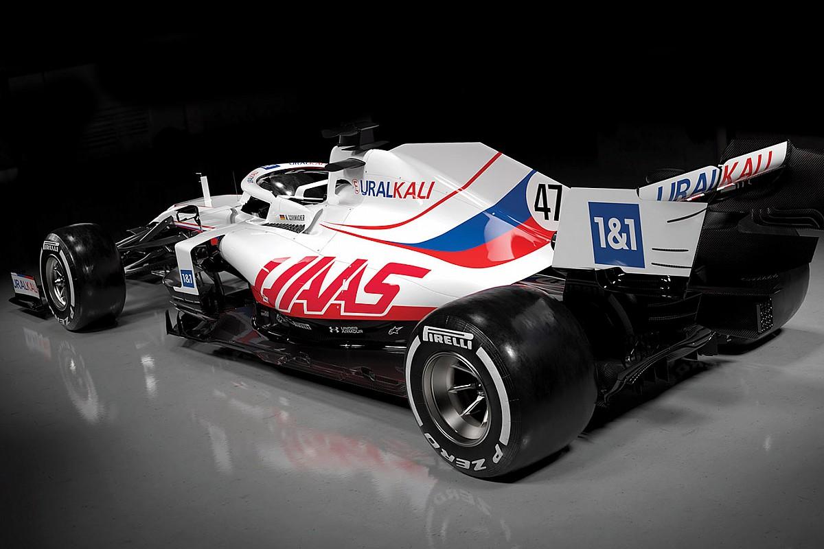 """ハースF1の""""ロシア風""""カラーリング、WADAの「ロシア国旗使用禁止」決定とは関係なし"""