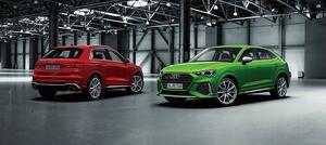 アウディQ3&Q3 Sportbackに最強のRSモデルが登場! 0-100km/h加速4.5秒の快速SUV