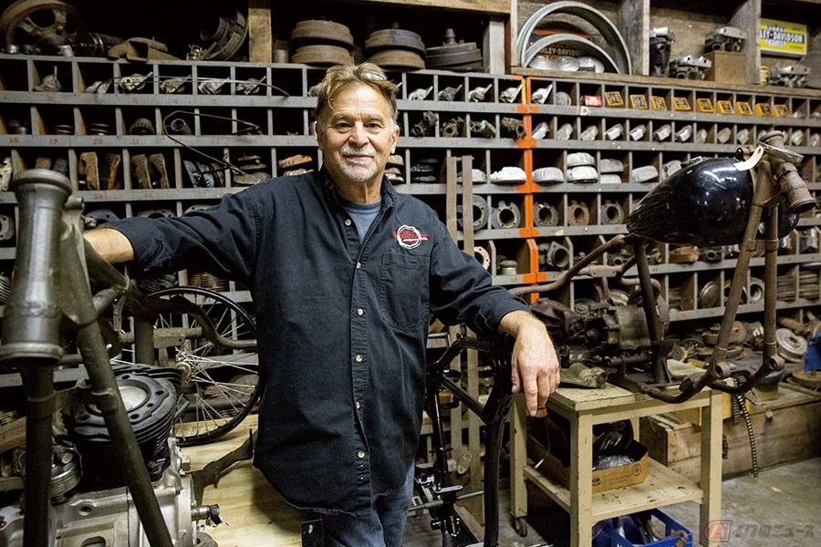 モーターサイクルへの偏執が成した米国二輪博物館『WHEELS THROUGH TIME』 しばしばクレイジーと揶揄される館長に本邦初インタビュー