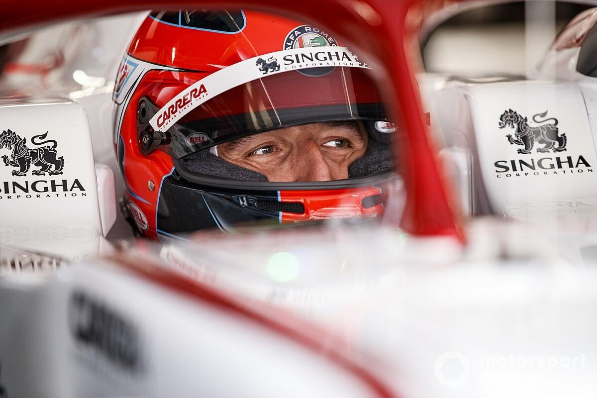 ロバート・クビサ、F1スペインGPのFP1でアルファロメオをドライブ