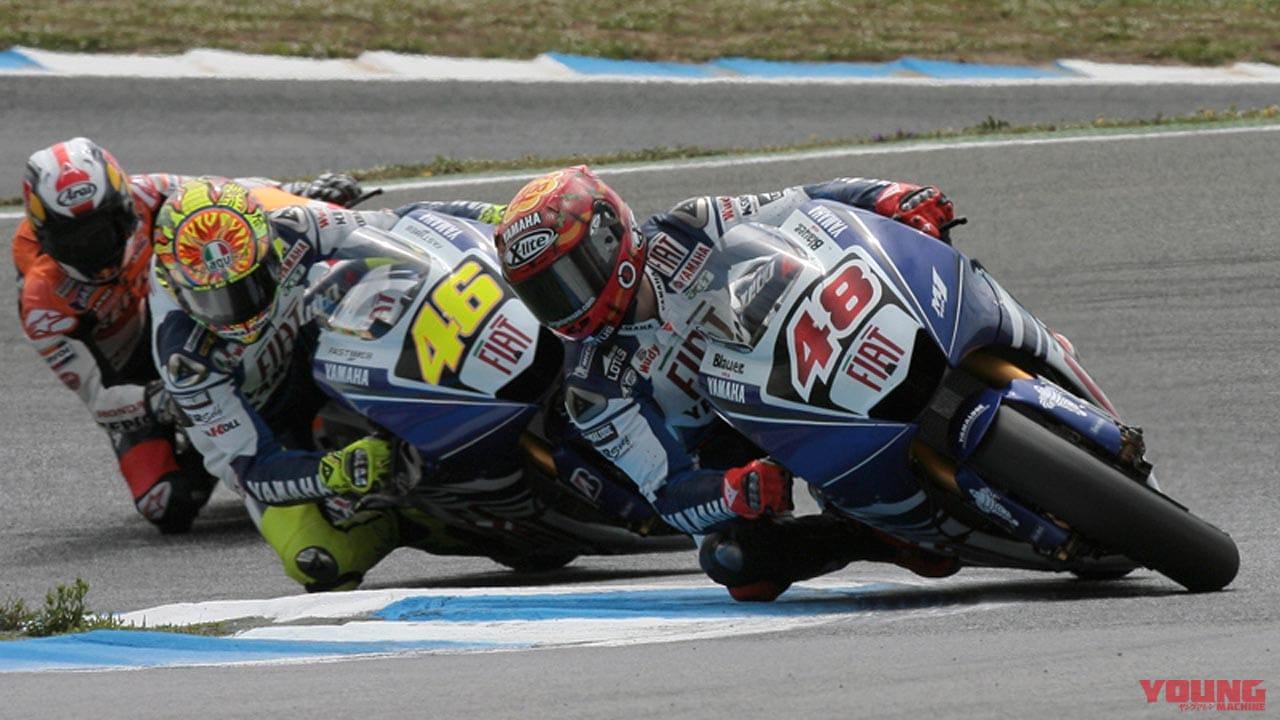 山田宏の[タイヤで語るバイクとレース]Vol.45「ロッシ加入も意外と苦戦の2008年序盤戦」