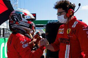 ルクレール4位「自分のパフォーマンスに満足。限界までプッシュし続けた」フェラーリ/F1第17戦決勝