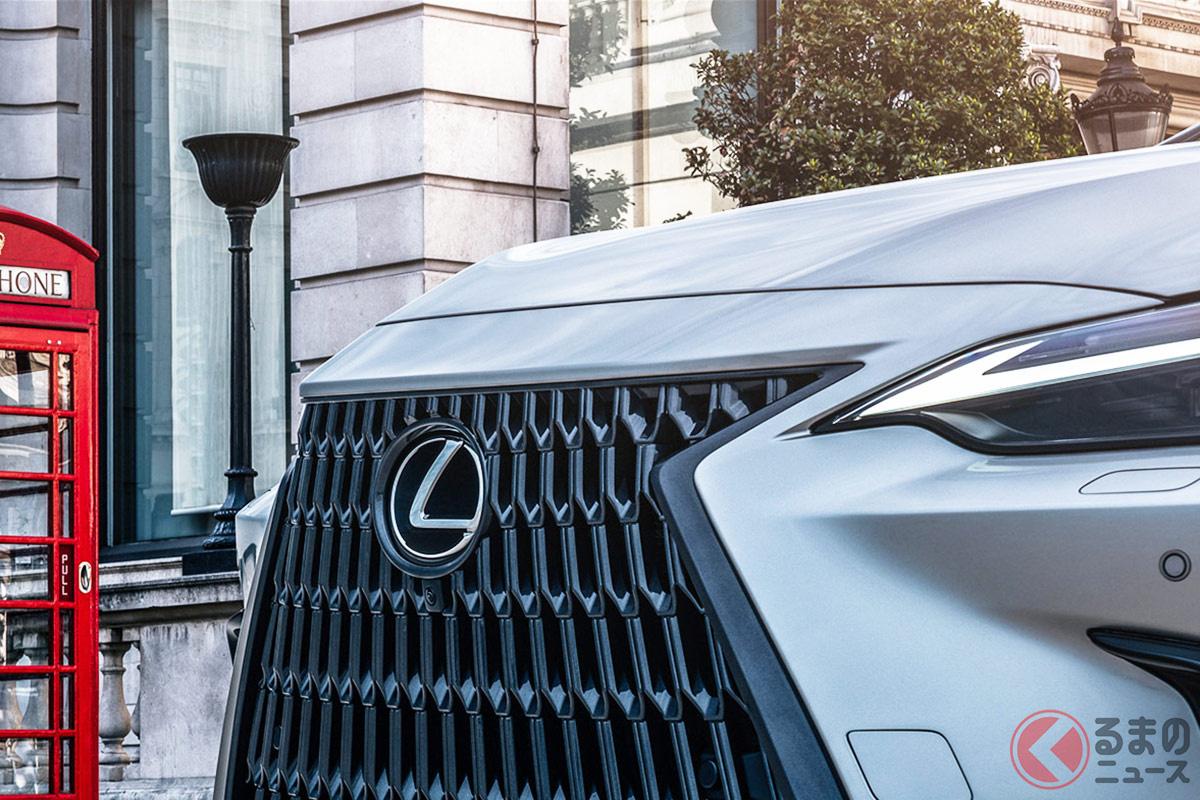 レクサス新型「NX」の新スピンドルグリル初公開! スタイリッシュなフェイスをお披露目!