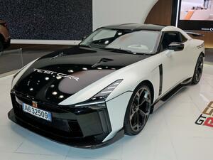 【写真蔵】GT-R50 by イタルデザインは、世界限定50台で価格は約1.5億円の「スーパー GT-R」