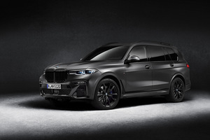 販売は7台限定! 漆黒の「BMW X7エディション・ダーク・シャドウ」が登場