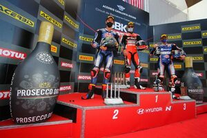 SBK第6戦:レイがレース1を制し9勝目、レース2はドゥカティのチャズ・デイビスが今季初優勝