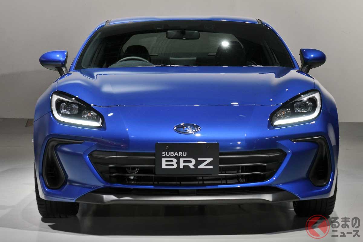 スバル新型「BRZ」のSTI仕様を一般初公開! エアロカスタムはどう進化した?