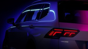欧州で人気、VW ティグアンのロングボディ仕様「オールスペース」の大幅改良モデルが近く登場
