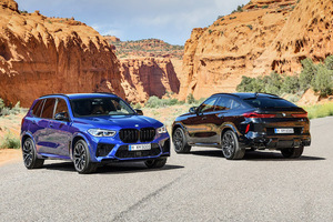 BMW レーシングカーの走りと日常の実用性を両立した新型「X5M」「X6M」登場