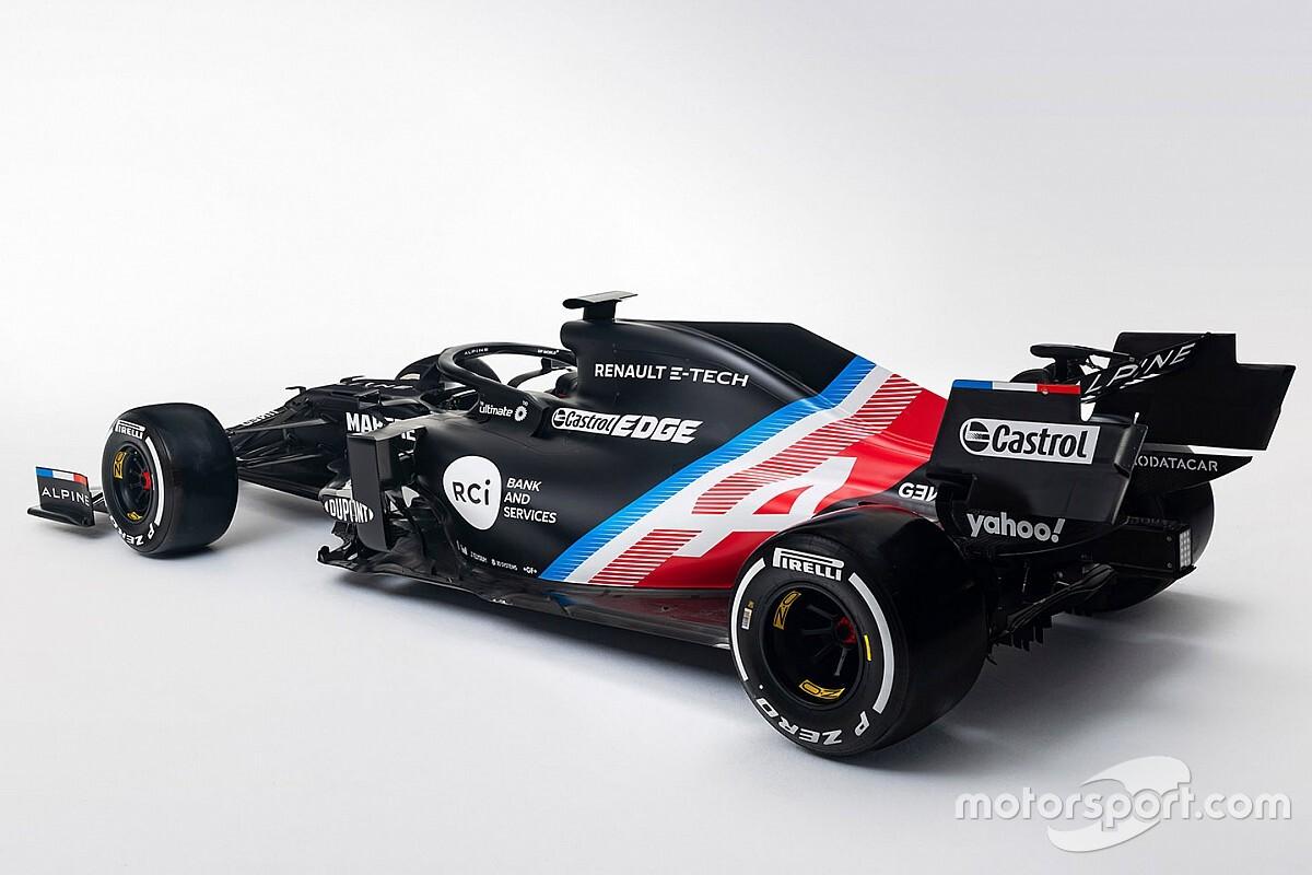 ルノー改めアルピーヌF1、ニューマシン『A521』の暫定カラーリングを公開。新車発表は2月
