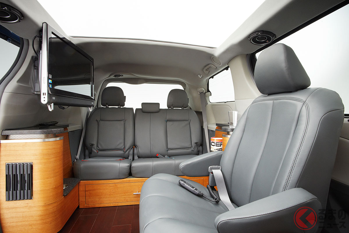6m超のトヨタ長すぎミニバン「シエナSWS」がスゴすぎる 豪華装備で家より快適かつカッコいい?
