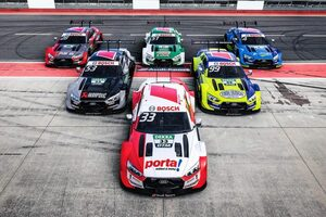 DTM:アウディ、2020年に参戦する6台のRS5 DTMのカラーリングを公開