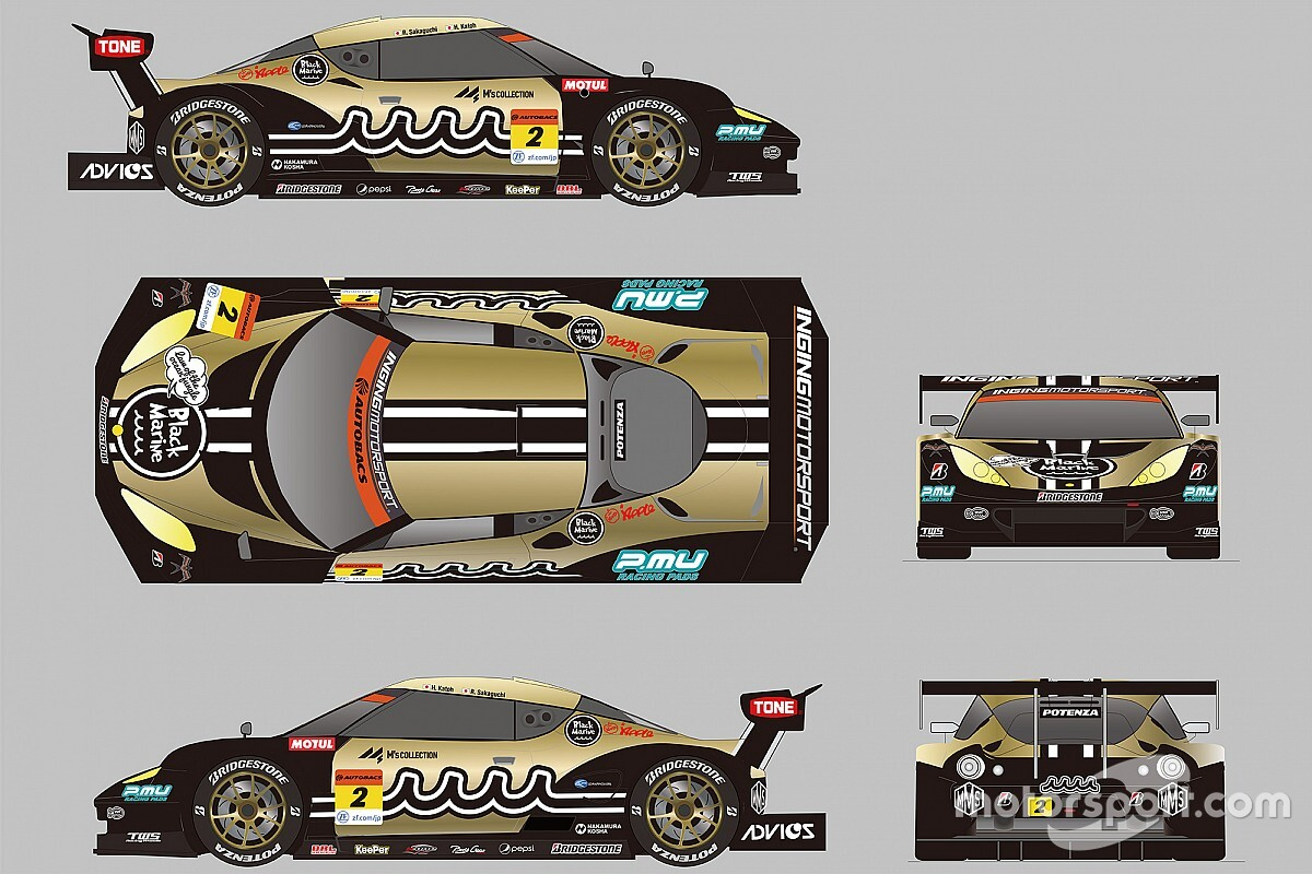 【スーパーGT】INGINGとCars Tokai Dream28がタッグ組みGT300参戦。加藤寛規&阪口良平がエヴォーラ駆る
