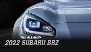 スバルが11月18日に発表される新型「BRZ」のフロントマスクをチラ見せ
