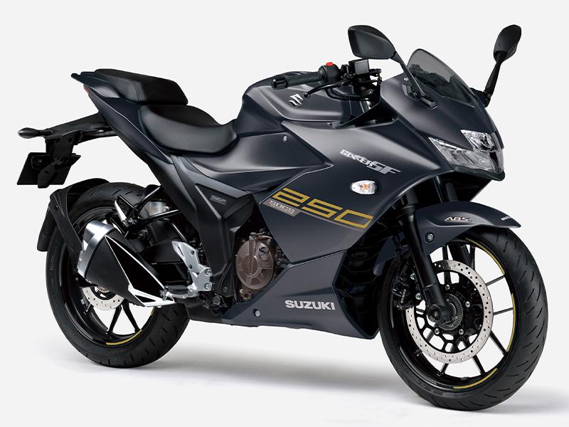 【スズキ】シックな新色「マットブラックメタリック」が登場!「ジクサーSF250」「ジクサー250」をカラーチェンジ