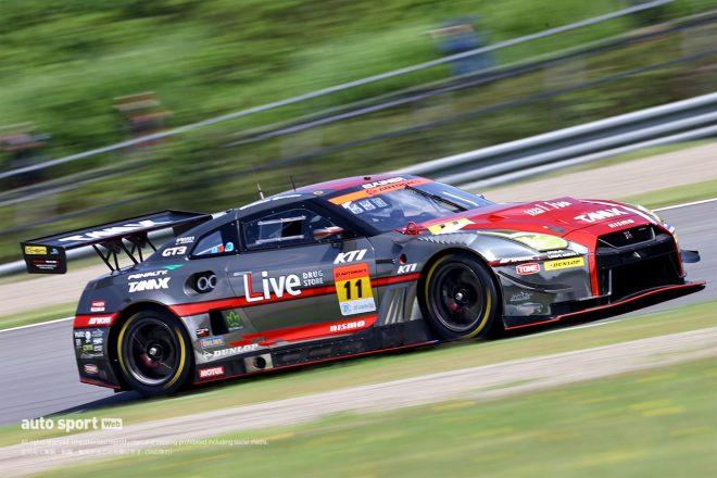 GAINER TANAX GT-Rが今季2回目のPPを獲得【第4戦もてぎGT300予選】