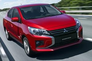 三菱自動車、フィリピンの「ミラージュG4」現地生産モデルがデザインを一新して発売