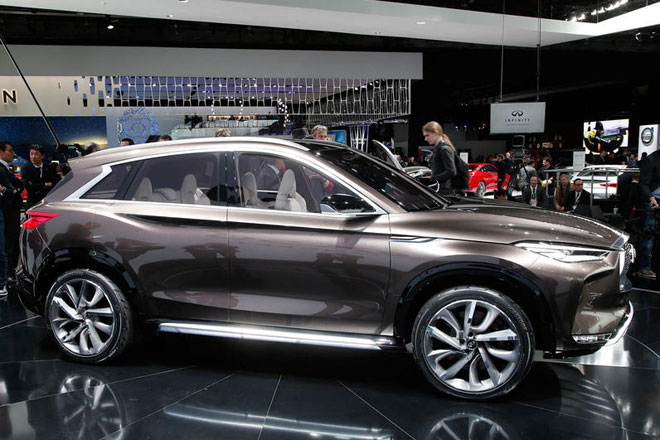 インフィニティの中型SUVコンセプト、QX50の詳細が判明 オリジナル画像14枚