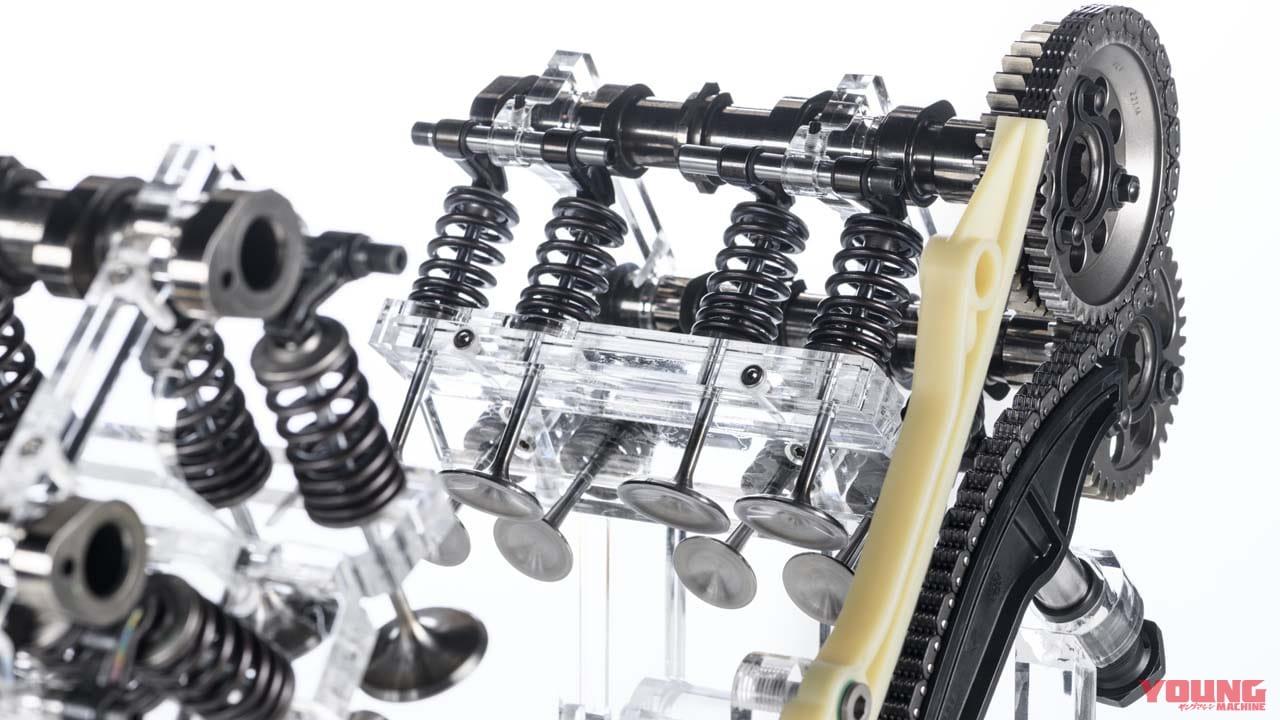 なんとデスモ非搭載! ドゥカティが170馬力の次世代ムルティ用V4エンジンを発表